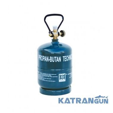 Газовий балон взимку GZWM BT-1