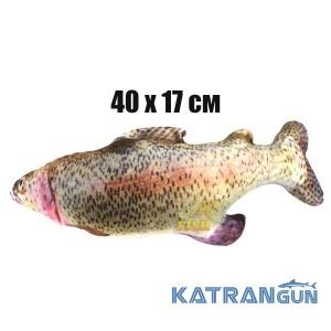 Подушка-игрушка Радужная форель (40х17 см)