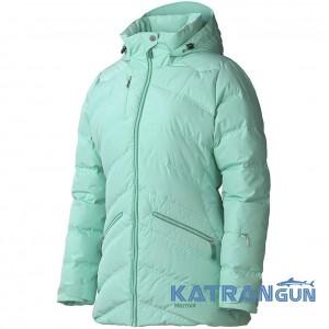 Куртка на гусячому пуху Marmot Women's Val D'Sere Jacket, Ice Green