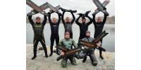 Осень - лучшее время для подводной охоты с Katrangundnepr