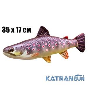 Подушка-игрушка Кумжа (35х17 см)