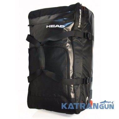 Сумка для путешествий на колёсах Head Travel Bag, чёрная