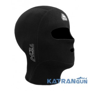 Дайверский короткий шлем Waterproof H1 Icehood