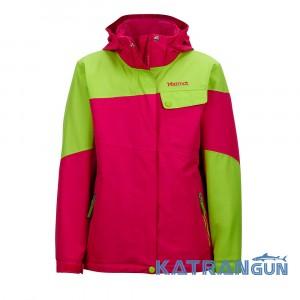 Яркая куртка для девочки Marmot Girls Moonstruck Jacket, Plum Rose lush