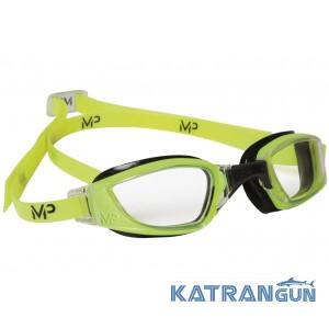 Стартовые очки для плавания Michael Phelps Xceed; линзы прозрачные