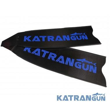 Сэндвич карбоновые лопасти для ласт KatranGun Pro Sandwich