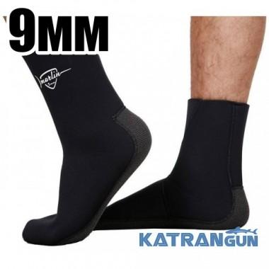Шкарпетки неопренові Marlin Anatomic Kevlar, 9 мм