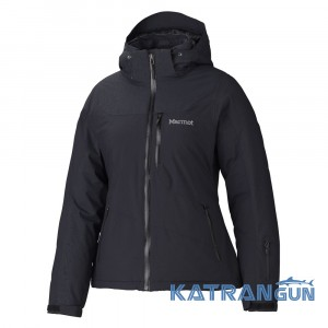 Удобная куртка для лыж и города Marmot Wm's Arcs Jacket, Jet Black
