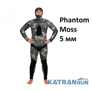 Гидрокостюм летний мужской Marlin Phantom Moss 5 мм
