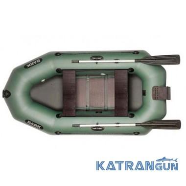 Лодка с навесным транцем Bark B-250ND, сдвижные сидения