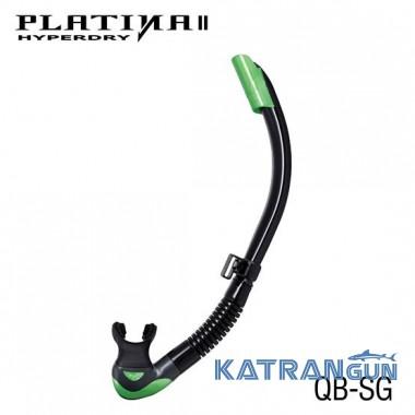 Дайверская трубка Tusa Platina II Hyperdry SG