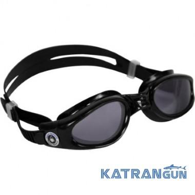 Незапотевающие очки для плавания Aqua Sphere Kaiman, dark lens/black