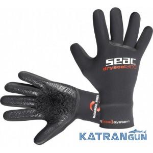 Неопреновые перчатки для подводной охоты Seac Sub Dry Seal 300