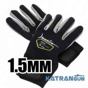 Перчатки для подводной охоты Marlin Amara 1,5 мм