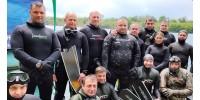 Пройшов дводенний семінар з підводного полювання з Романом Федаш