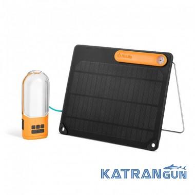 Солнечная панель и фонарь Biolite PowerLight Solar Kit