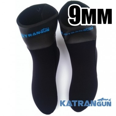 Носки для подводной охоты 9мм KatranGun Hunter Anatomic WaterLock