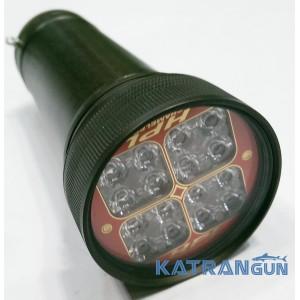 Светодиодный фонарь подводной охоты HunterProLight-4 Chameleon