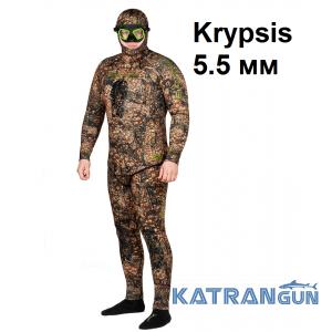 Мягкий долговечный гидрокостюм Salvimar Krypsis 5.5 мм