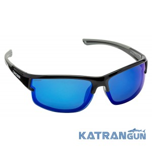 Очки солнцезащитные Cressi Phantom black/blue lens