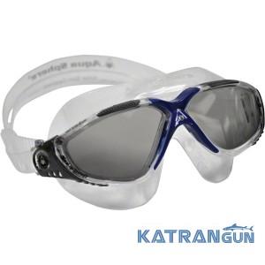 Очки-маска для плавания Aqua Sphere Vista; линзы темные