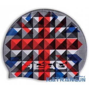 Силиконовая шапочка для плавания Head Flag Suede