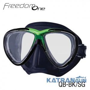 Дайверская маска Tusa Freedom One Bk/SG