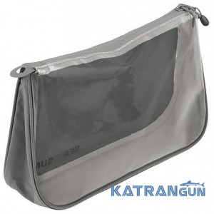Невелика дорожня косметичка Sea to Summit TL See Pouch (Black / Grey, M / 2L)
