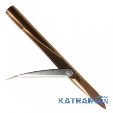 Трёхгранный наконечник для гарпуна Salvimar K9, один флажок, калёный