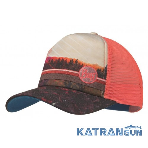 Удобная кепка Buff Trucker Cap collage multi - купить в интернет ... d2d2b6d4f932