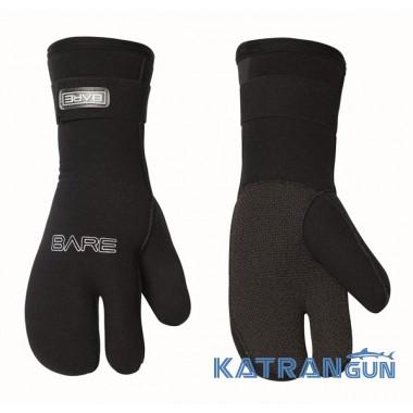 Рукавицы для подводной охоты Bare K-Palm Mitt 7 мм