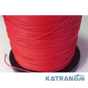Линь для подводного ружья Kalkan Clyneema 2 мм, красный