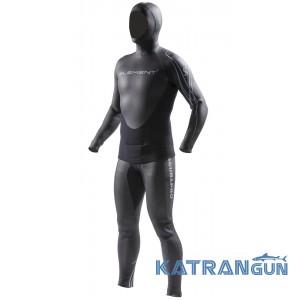 Гидрокостюм для фридайвинга Scubapro 2piece Element Freediving Suit, 5/4 Mm