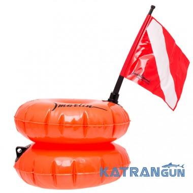 Буй для полювання і дайвінгу Marlin TWIN orange
