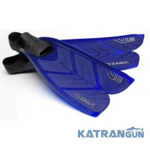 Ласты для снорклинга Oceanic Vortex V-6 Blue