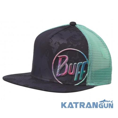 Удобная кепка Buff Trucker Cap shining navy - купить в интернет ... 7e7e907badb9