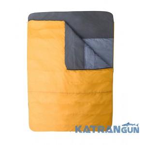 Спальний мішок ковдра Marmot Mavericks Double Wide 30, Golden Copper/Dark Olive, Left Zip