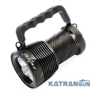 Самый мощный фонарь для подводной охоты Ferei W172
