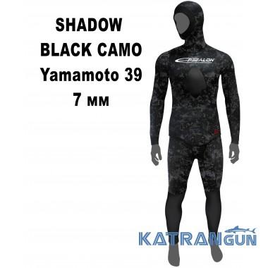Гідрокостюм Epsealon Shadow Black Camo 7 мм