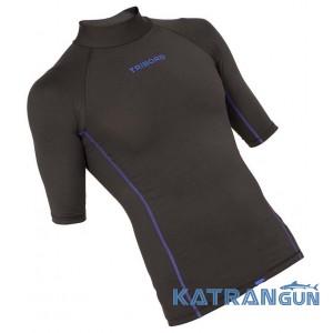 Лайкрова футболка для плавання Tribord, короткий рукав