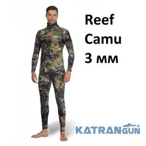 Гідрокостюм камуфляжний Sporasub Reef Camu 3 мм