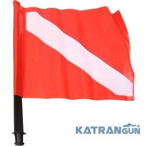 Флаг подводных охотников Omer