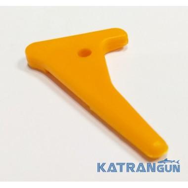 Линесброс Pelengas; пластиковый; оранжевый