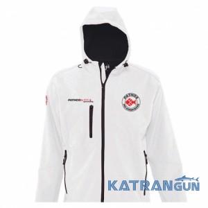 Ветронепродуваемая куртка Pathos Softshell Team, белая