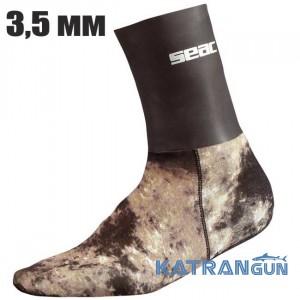 Шкарпетки для підводного полювання Seac Sub Camo 3,5 мм