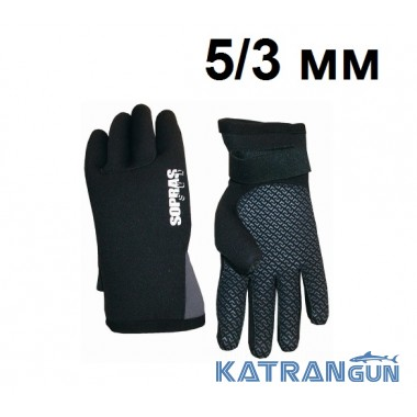 Перчатки Sopras Sub Gloves PU 5/3 мм