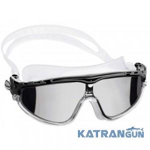 Очки для подводного плавания Cressi Sub Skylight Sil; зеркальные линзы