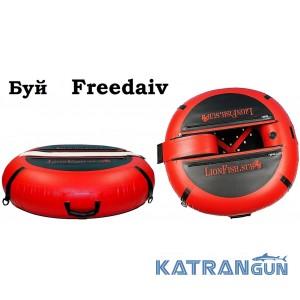 Буй для фрідайвінга та підводного полювання LionFish Freedaiv