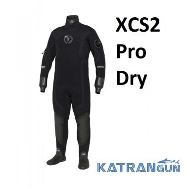 Сухий гідрокостюм чоловічий Bare XCS2 Pro Dry
