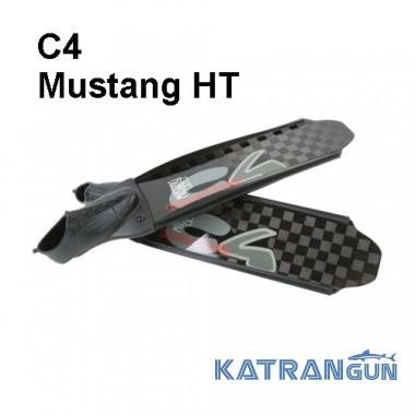 Карбонові ласти для підводного полювання C4 Mustang HT